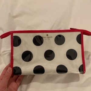 Kate Spade Henrietta Polka Dot Cosmetic Case